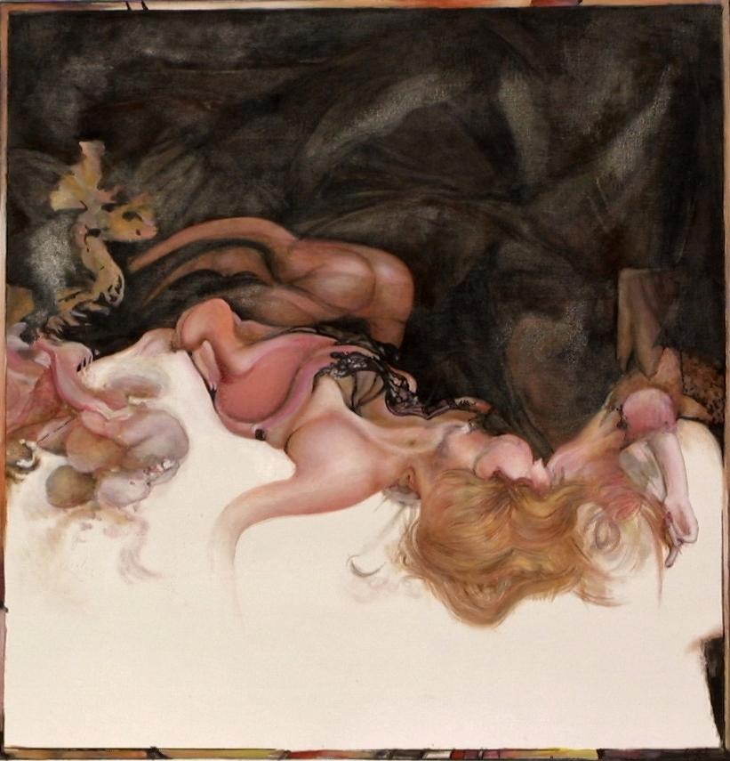 Corinne (110 x 110) Collection particulière