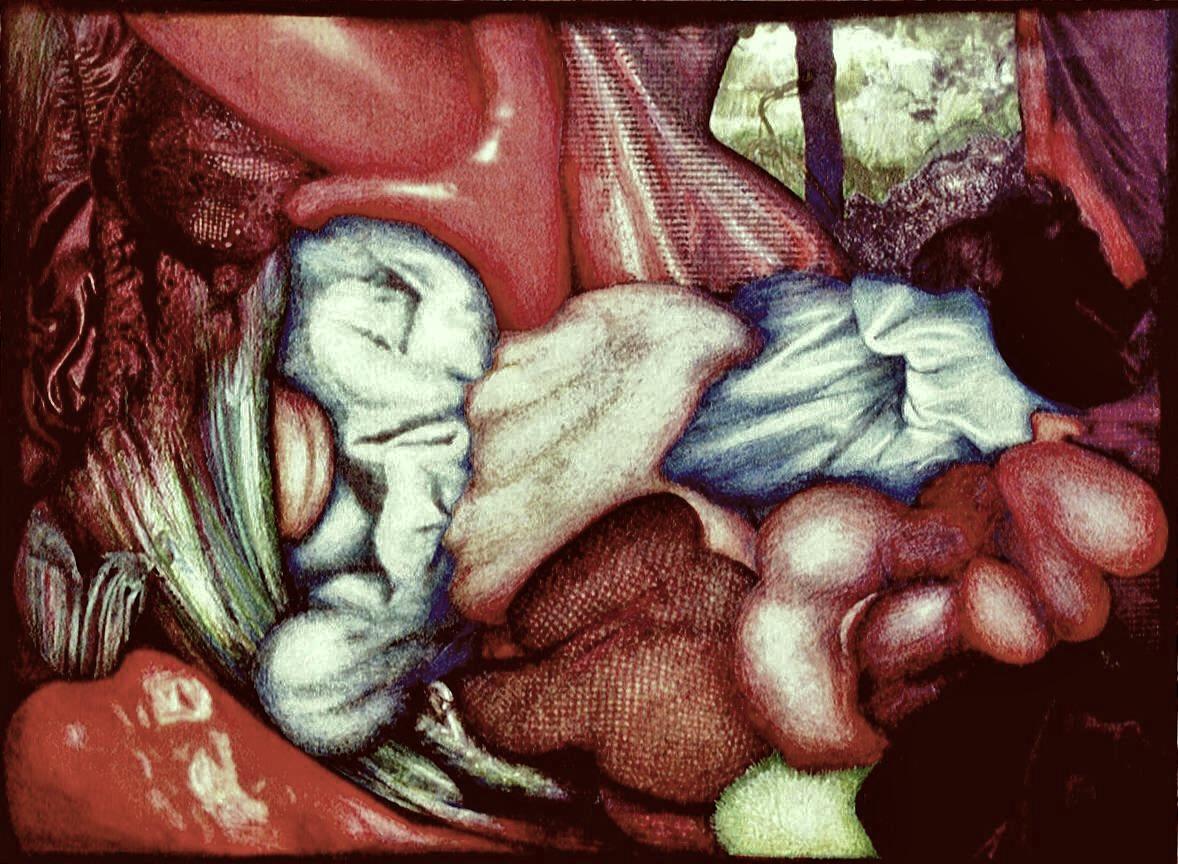 Daphnis et cloé (44 x 31) Collection particulière