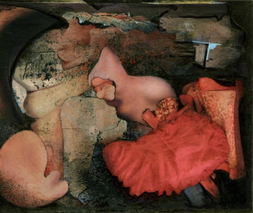Etoffe ourlée de l'innombrable (17.5 x 14) Collection particulière