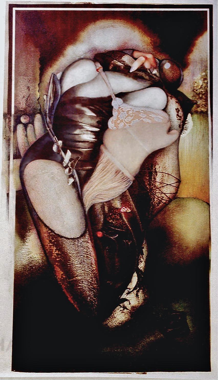 Aisance nocturne (33 x 59) Collection particulière